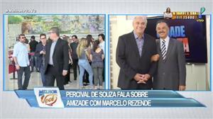 Percival de Souza presta homenagem a Marcelo Rezende
