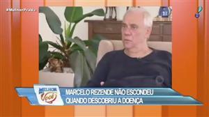 """Em entrevista, Marcelo Rezende contou como descobriu doença: """"Eu tava mal"""""""