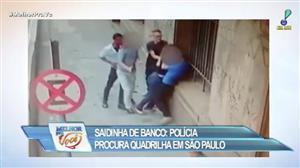 Polícia procura quadrilha que assalta clientes na saída do banco em SP