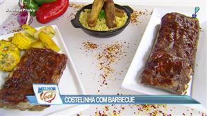 Edu Guedes mostra como preparar costelinha com molho barbecue
