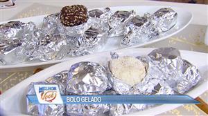 Edu Guedes e convidado ensinam receita de bolo de coco gelado