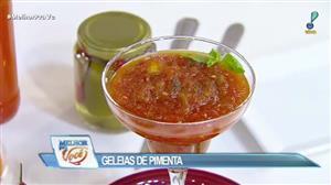 Edu Guedes e convidado ensinam receita de geleia de pimenta