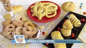 Edu Guedes ensina a fazer massa caseira de pretzel
