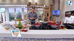 Edu Guedes ensina a preparar receitas variadas com pernil
