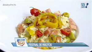Edu Guedes faz festival do risoto e dá dicas