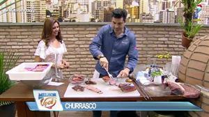Edu Guedes dá dicas para preparar churrasco