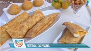 Culinária do Edu promove Festival do Pastel