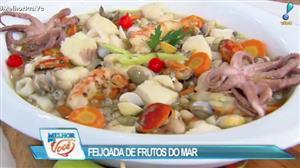 Edu Guedes ensina receita de Feijoada de Frutos do Mar