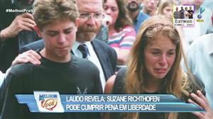 Laudo revela que Suzane Richthofen pode cumprir pena em liberdade