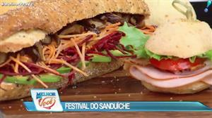 Edu Guedes promove Festival do Sanduíche