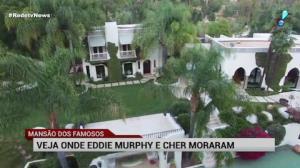 RedeTV News mostra mans�o que j� foi de Cher e Eddie Murphy