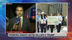 Clinton e Trump participam de 1� debate presidencial nos EUA