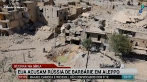 EUA, Reino Unido e Fran�a criticam a��o da R�ssia em Aleppo