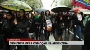 Uma mulher � morta a cada 30 horas na Argentina