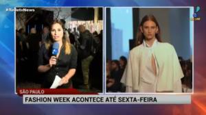 Come�a a 42� edi��o do S�o Paulo Fashion Week