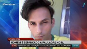 Homem � espancado a pauladas no Rio