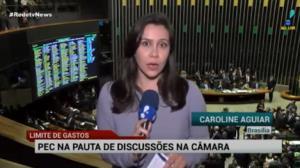 C�mara inicia vota��o da PEC do Teto de Gastos