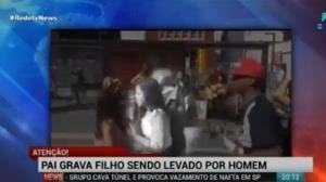 Pol�cia prende suspeito de tentar sequestrar menino na avenida Paulista