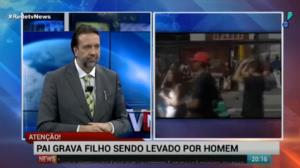 'Filho n�o pode sair de perto dos adultos', diz Jorge Lordello