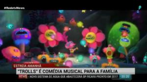 'Trolls' � com�dia musical para a fam�lia