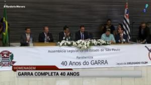 Grupo da pol�cia de SP, Garra completa 40 anos