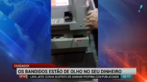 Bandidos ensinam como praticar roubos em caixas eletr�nicos