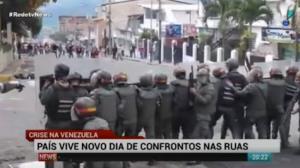 Crise na Venezuela piora ap�s protestos populares