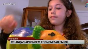 Em tempos de crise, crianças aprendem a economizar