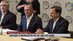 Estado de SP e prefeitura da capital vão se unir na Educação