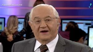 """""""As ações do governo são impopulares, embora necessárias"""", diz Boris Casoy"""