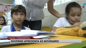 Governo apresenta novidades no ensino fundamental