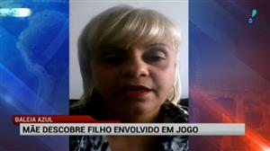 """Mãe de jovem envolvido em jogo suicida """"Baleia Azul"""" faz desabafo"""