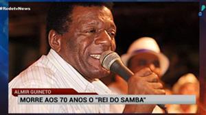 """Morre aos 70 anos Almir Guineto, o """"rei do samba"""""""
