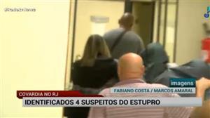 Polícia do Rio identifica suspeitos de participarem de estupro coletivo