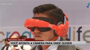 Reportagens da RedeTV! terão imagens em 360º