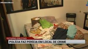 Polícia do Rio faz perícia em local de estupro coletivo