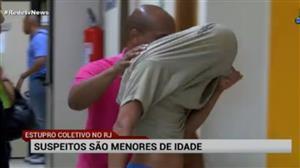 Quatro jovens que estupraram menina no Rio são menores de idade