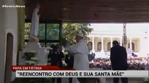 Peregrinos se emocionam ao chegarem a Fátima