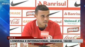 Internacional estreia na Série B contra o Londrina