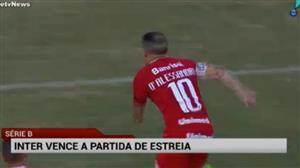 Internacional goleia o Londrina na estreia pela Série B
