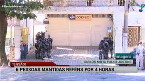 Seis pessoas são mantidas reféns em agência dos Correios na ZL de SP