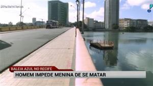 Homem impede garota de 15 anos de se matar em Recife