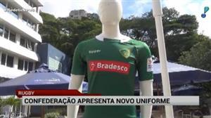 Brasil apresenta novo uniforme da seleção de rugby