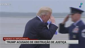 Congresso dos EUA já cogita o impeachment de Trump