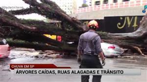 Chuva causa transtornos em São Paulo