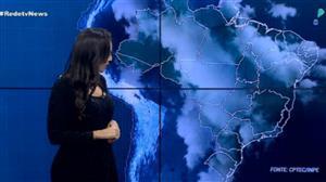 Chuva avança sobre o Sul e Sudeste