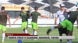 RedeTV! transmite neste sábado Santa Cruz e Guarani pela Série B