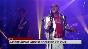 Morre aos 62 anos o músico Kid Vinil