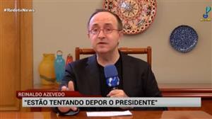 """Reinaldo Azevedo: """"Temer vai enfrentar crise e sairá vitorioso"""""""