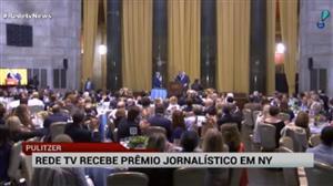 RedeTV! recebe o Pulitzer, maior prêmio jornalístico do mundo